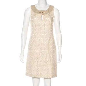 Tory Burch linen accent dress